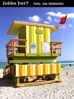 Kontor på strand