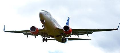SAS-fly på vingene