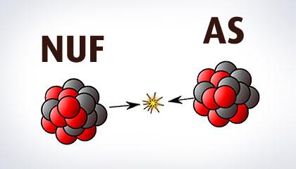 Fusjon NUF - AS