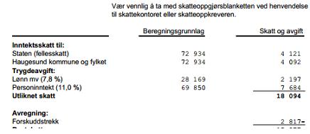 35c13b96 Slik regnes skatt av næringsinntekt og vanlig lønn   Frilansinfo.no