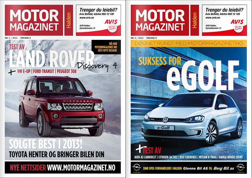 faksimile av motormagazinet